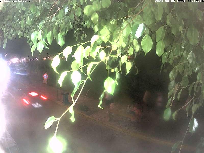 Онлайн веб камера Греция остров Пелопоннес пляж Ступа